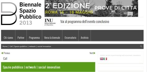 Biennale Spazio Pubblico Cittá Open Source Patrizia Di Monte - Ignacio Grávalos 2