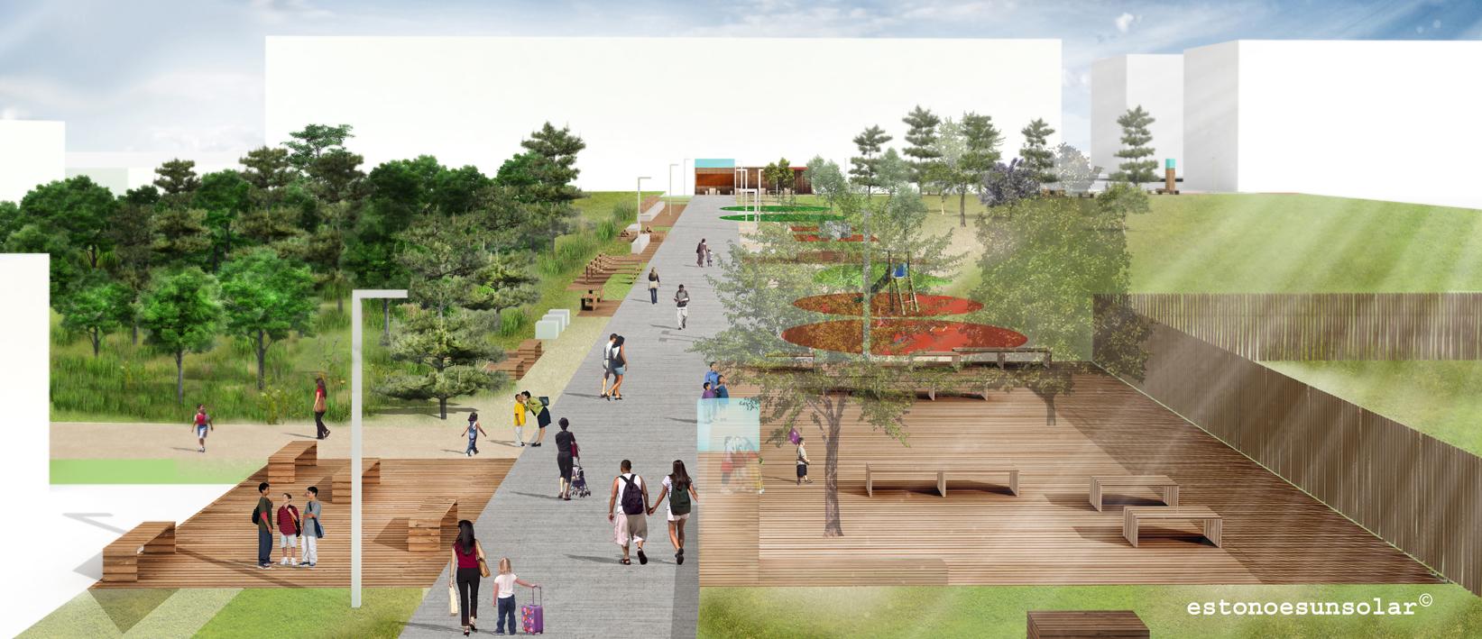 Bella fuori 3 on progress un espacio publico cogestionado for Tipos de mobiliario urbano pdf